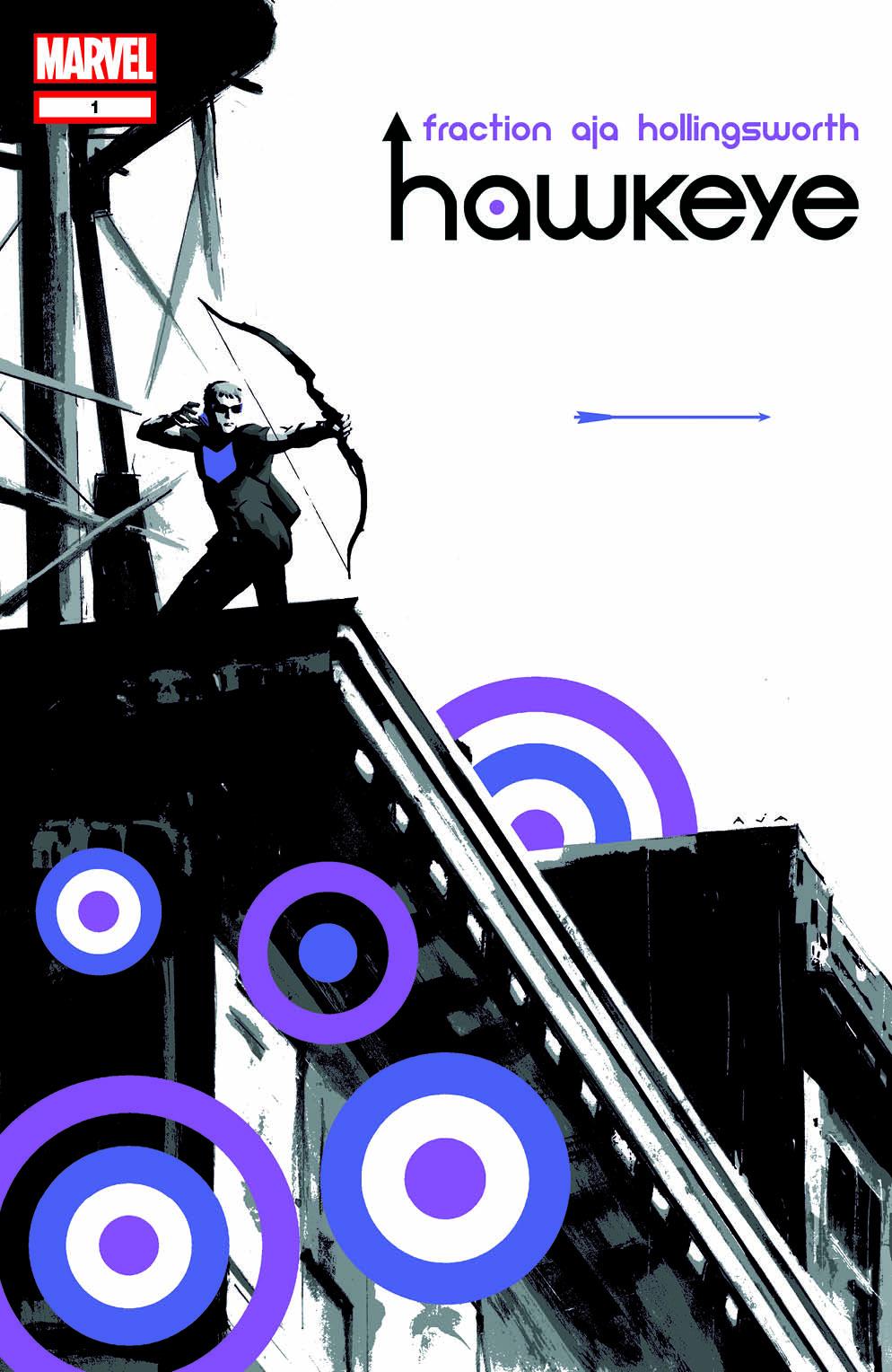 Hawkeye #1 Cover (Aja)
