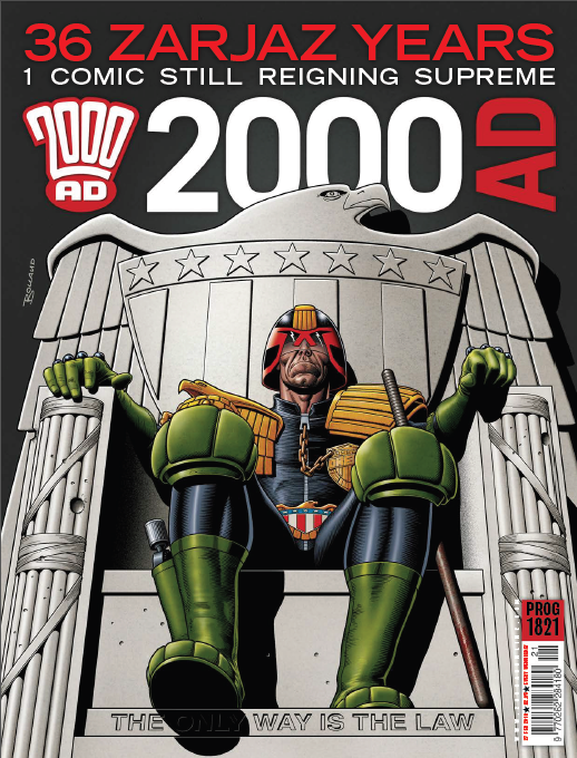 2000AD prog 1821 cover
