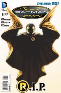 Batman Inc 8 cover