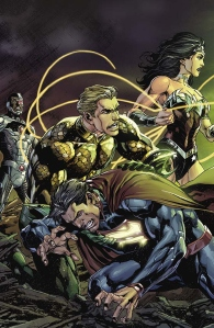 Justice League #19 Gatefold Cover Preview