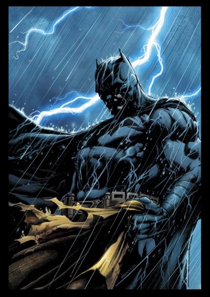 "Batman: Detective Comics ""Requiem"" Cover, in the wake of the events of Batman Inc. #8"