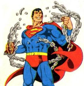 Superman's new title plays homage to a classic Superman motif