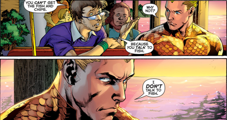 Aquaman Doesn't Eat Fish