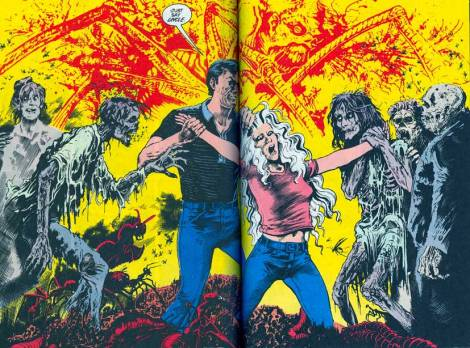 Image from Saga of the Swamp Thing Book #2 Featuring Abigail & Anton Arcane
