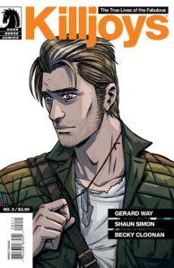The True Lives Of The Fabulous Killjoys #2 (w) Gerard Way & Shaun Simon (a) Becky Cloonan (c) Dan Jackson (l) Nate Piekos Dark Horse Comics