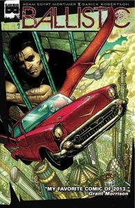 Ballistic #2 (w) Adam Egypt Mortimer (a) Darick Robertson (c) Diego Rodriguez (l) Crank! , Black Mask Studios $3.99