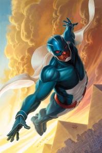 """Skyman #1"" (w) Joshua Hale Fialkov (a) Manuel Garcia Dark Horse Comics $2.99"