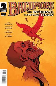 """Baltimore: The Infernal Train #2"" Mike Mignola, Christopher Golden, Ben Stenbeck, Dave Stewart Dark Horse Comics $3.50"