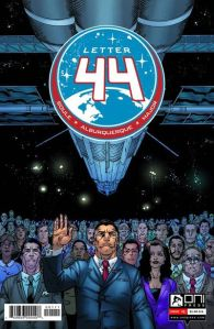 """Letter 44 #1"" Charles Soule, Alberto Albequerque Oni Press $1.00"