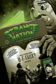 Strange Nation #1 (w/l) Paul Allor (a/c) Juan Romera, Monkeybrain comics, 0.99 available at