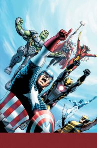 """Avengers World #1"" (w) Jonathan Hickman, Nick Spencer (a) Stefano Caselli Marvel Comics $3.99"