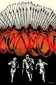 """Three #3"" Ryan Kelly, Kieron Gillen, Jordie Bellaire Image Comics  $2.99"