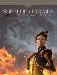 Sherlock Holmes (w Sylvain Courdurie) (a Laci) Dark Horse Comics $17.99 HC
