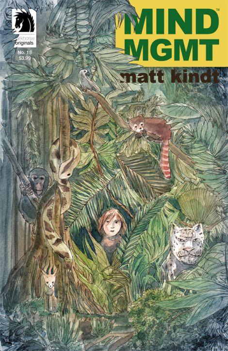 w) Matt Kindt a) Matt Kindt $2.99 Dark Horse Comics