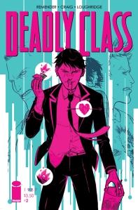 Deadly Class (w Rick Remender) (a Wes Craig) Image Comics $3.50