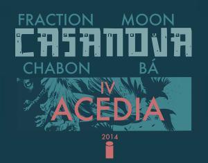 Fraction, Moon and Ba - Casanova Vol. 4 - Acedia