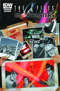 """X-Files Conspiracy: Ghostbusters #1"" (w) Erik Burnham (a) Salvador Navarro IDW Publishing $3.99"