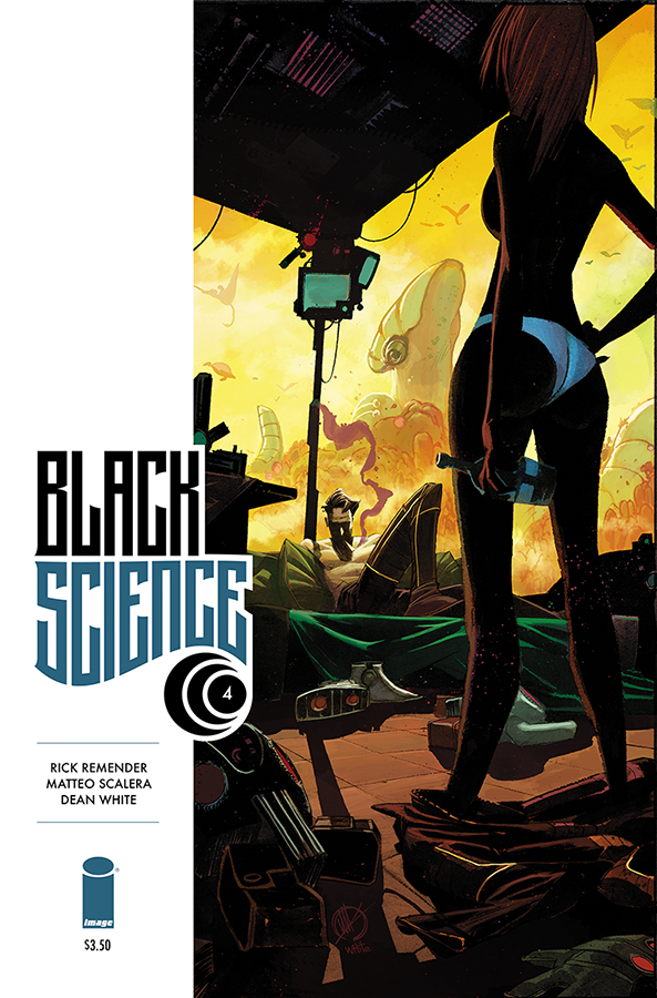 Black Science #4 (w) Rick Remender (a) Matteo Scalera ( a) Dean White Image Comics