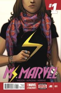 """Ms. Marvel #1"" (W) G. Willow Wilson (A) Adrian Alphona Marvel Comics"