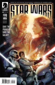 """""""The Star Wars #5"""" Jonathan Rinzler, Mike Mayhew, Rain Beredo, Nick Runge Dark Horse Comics $3.99"""