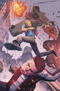 """""""Archer and Armstrong #18"""" (w) Fred Van Lente (a) Pere Perez Valiant Comics $3.99"""