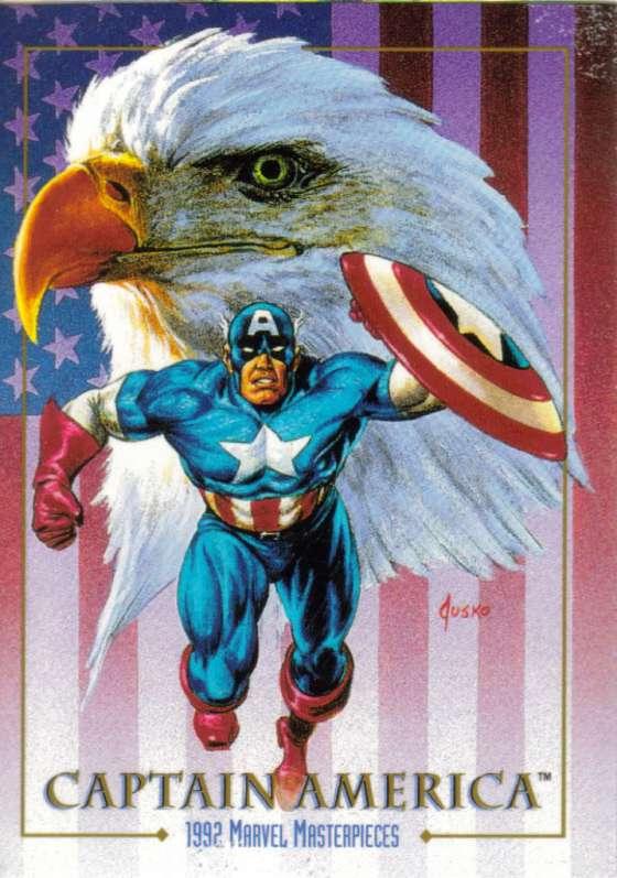Art by Joe Jusko  Marvel Comics 1992 Marvel Masterpieces