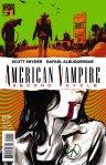 """American Vampire Second Cycle #1""  Scott Snyder (writer), Rafael Albuquerque  Vertigo  $3.99"