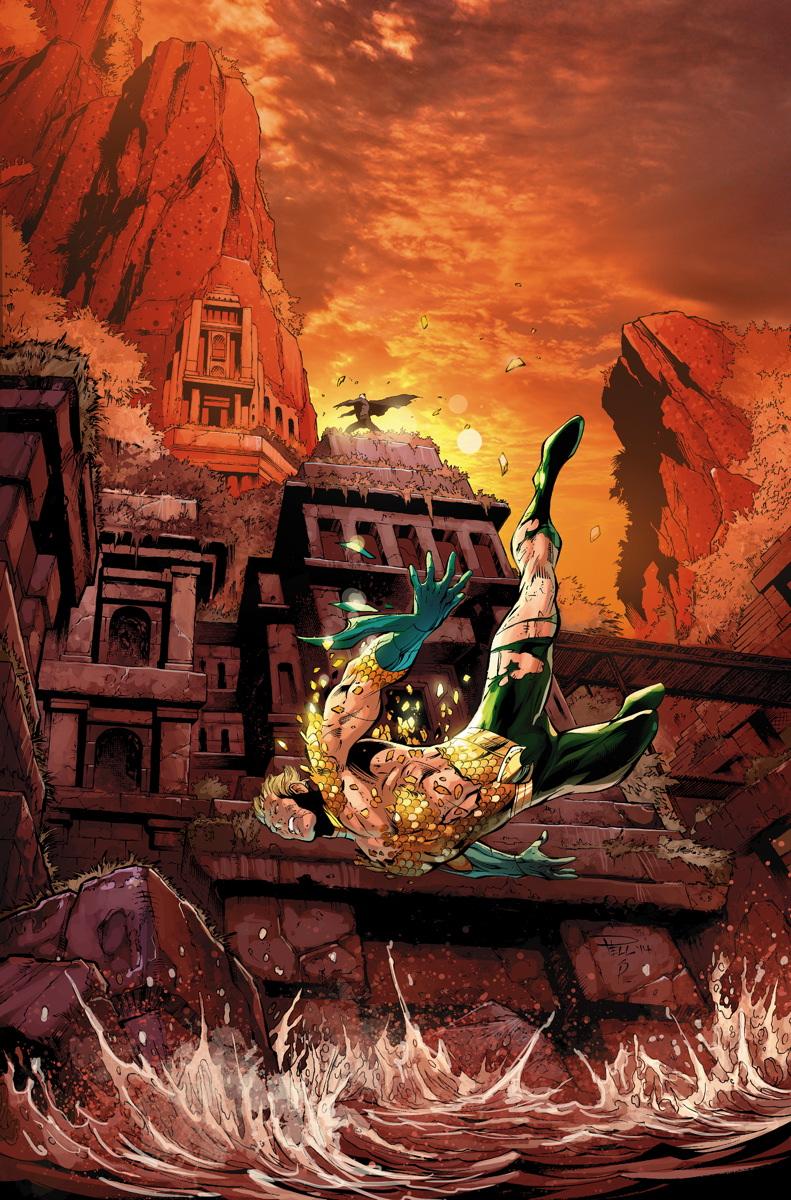 Aquaman 30 Cover