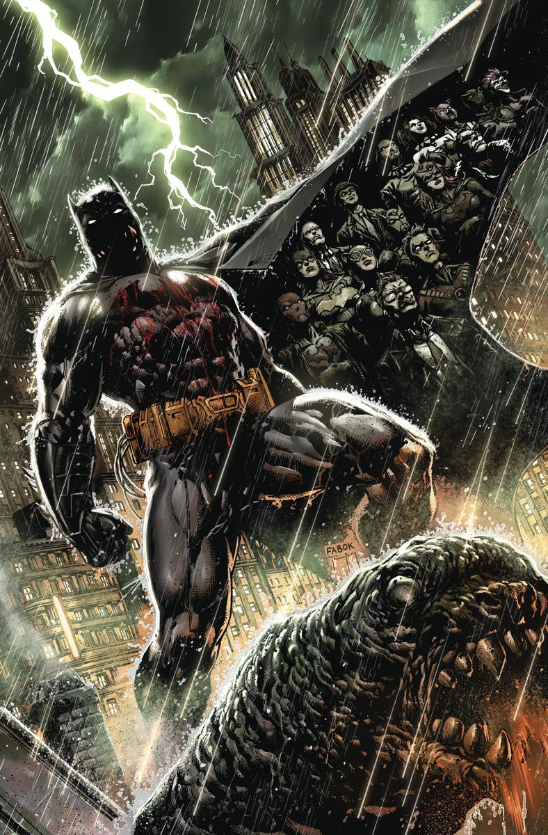 Batman Eternal 01 Cover
