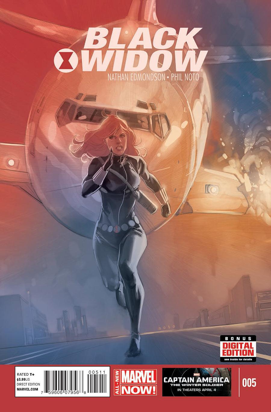 Black Widow 5 cover