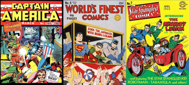 comics and wartime