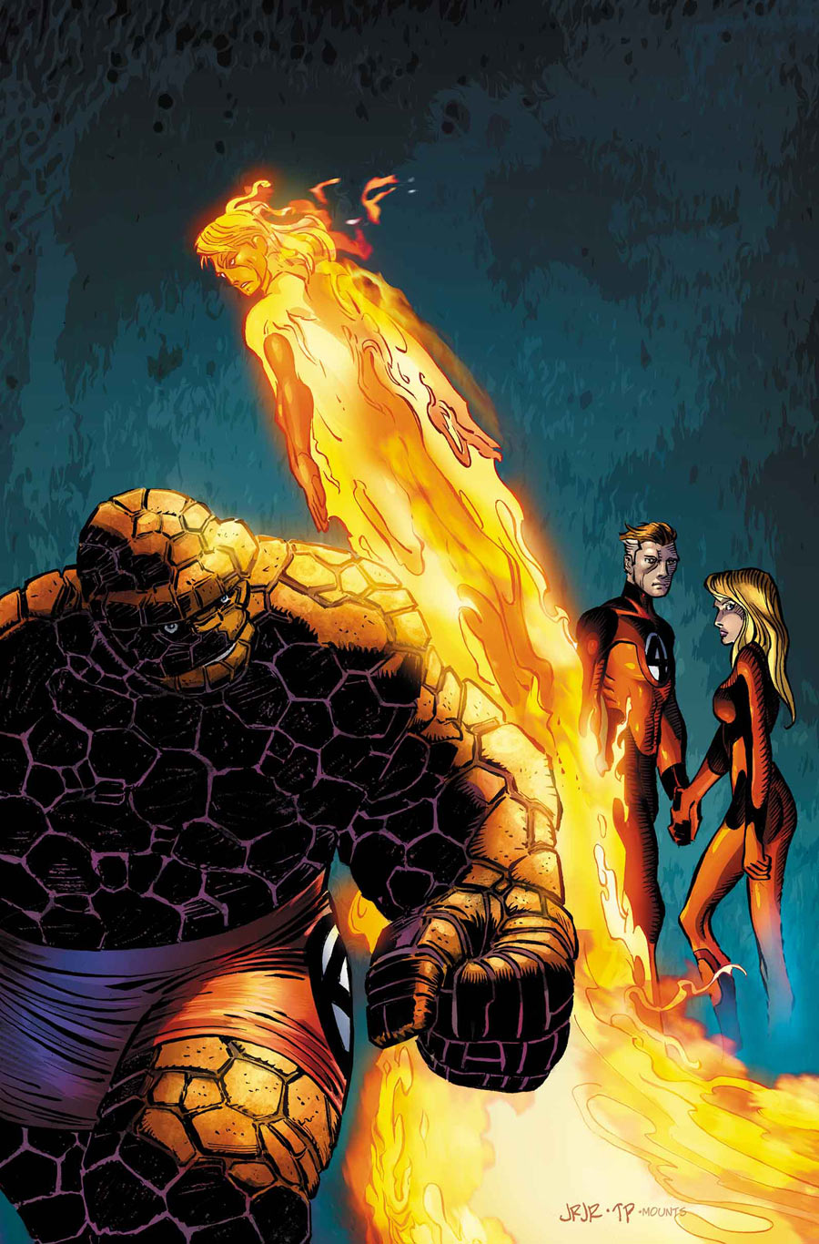 Fantastic Four #3 cover