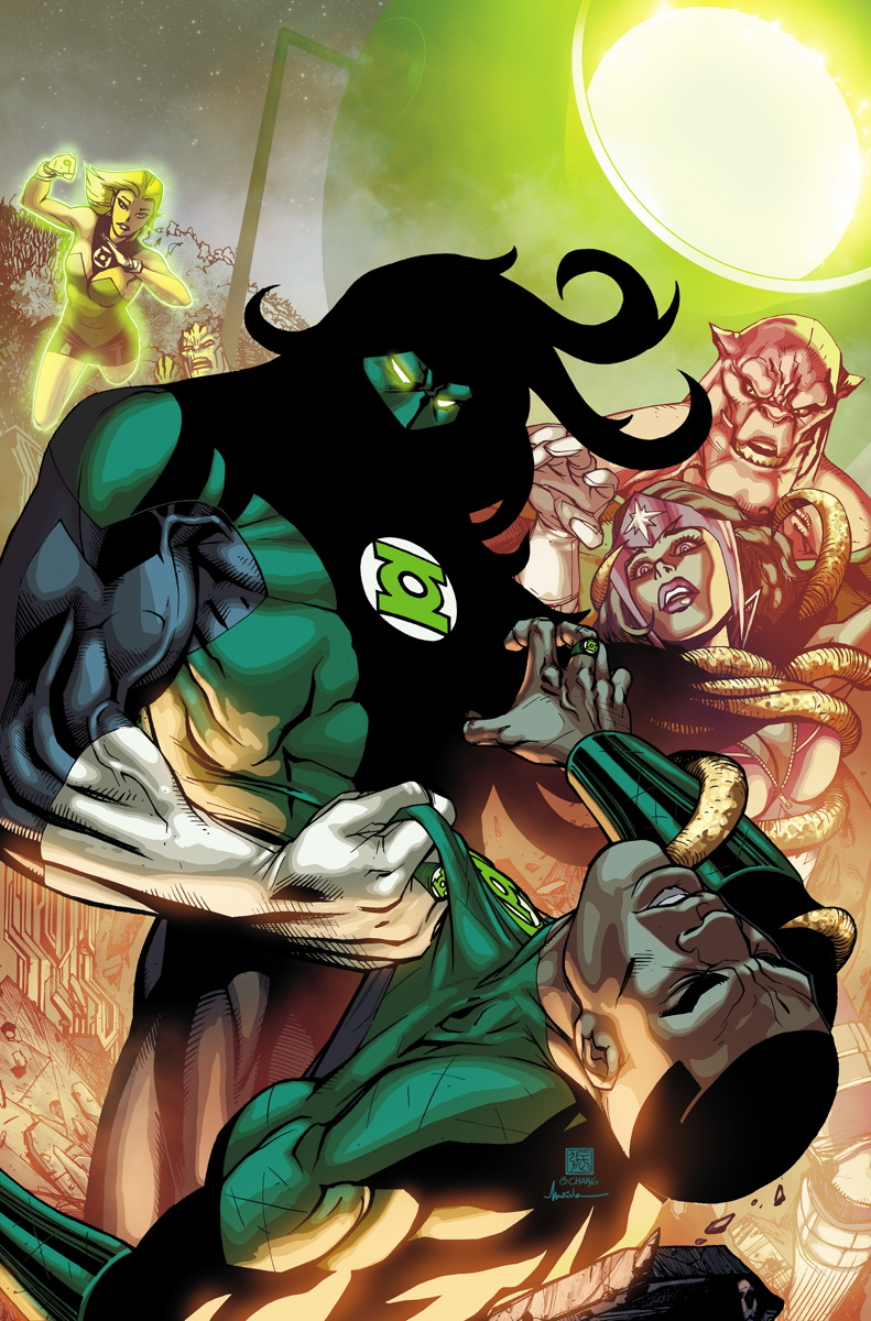 Green Lantern Corps 30 cover