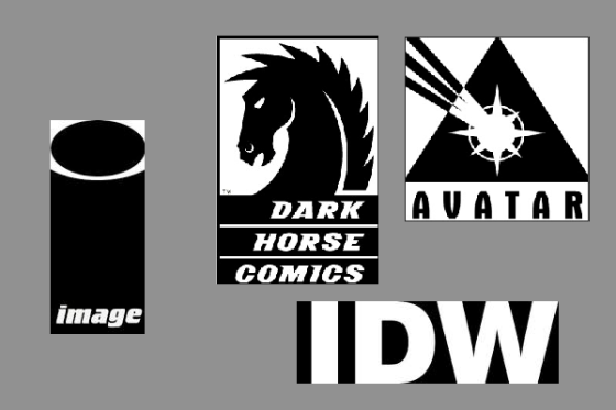 indie logo composite