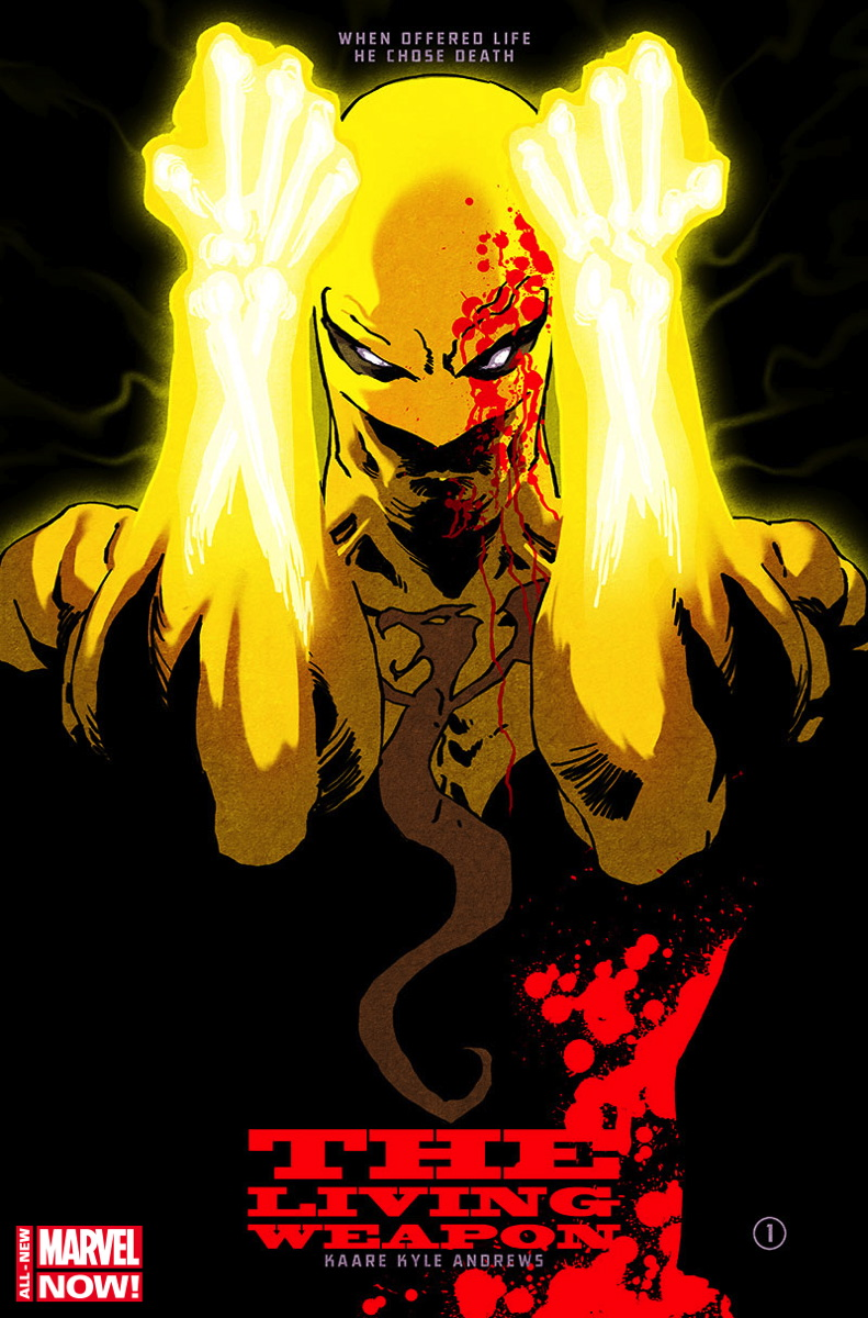 Iron Fist The Living Weapon 01 cover