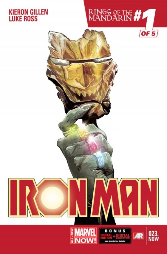 Iron Man #23 (writer) Kieron Gillen (artist) Luke Ross Marvel Comics