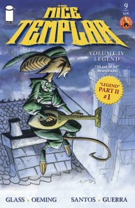 """REVIEW: """"The Mice Templar #9"""" Game of Mice Meanders and Sings"""