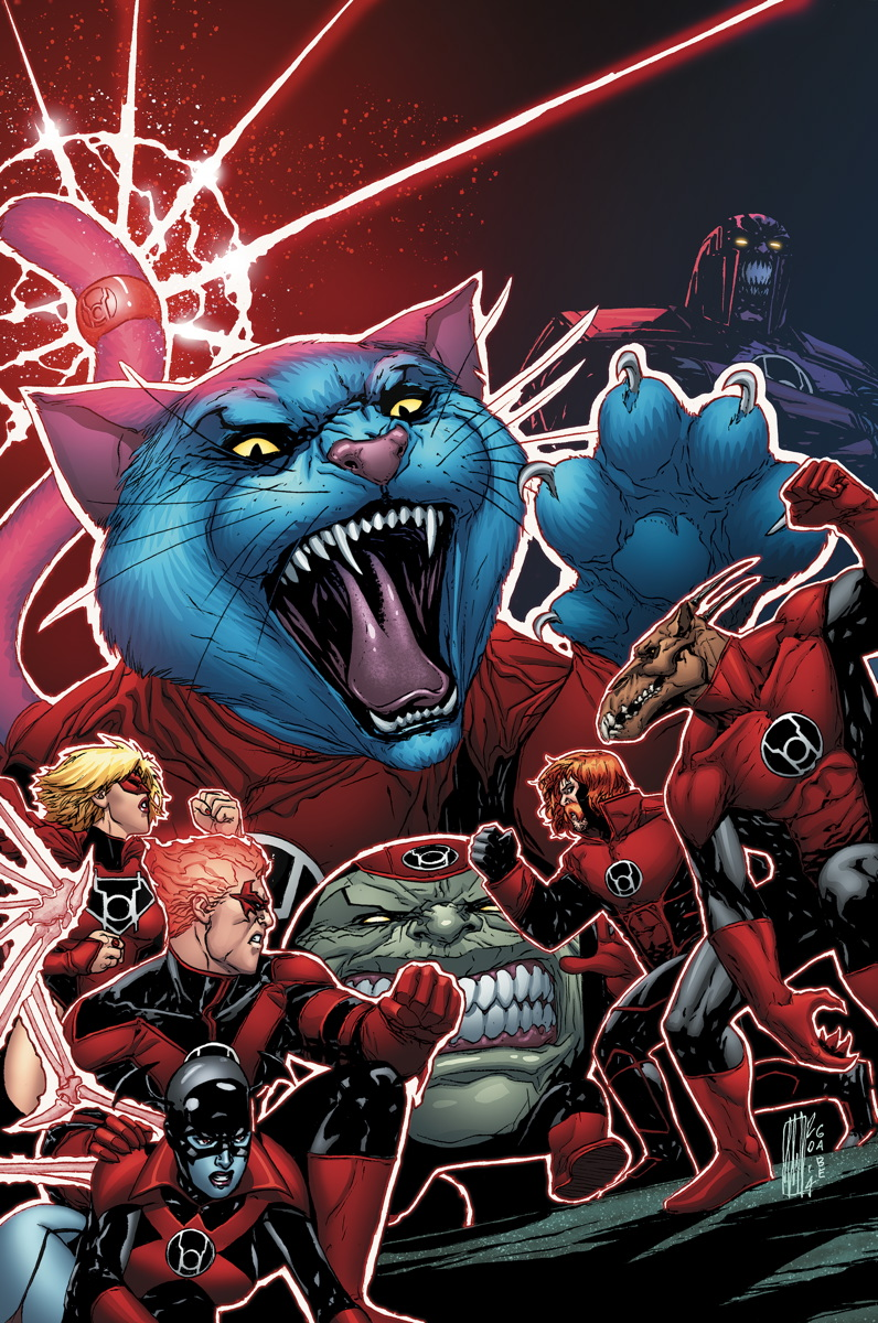 red lanterns #30 cover