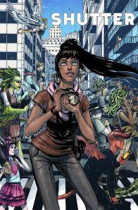 """Shutter #1"" (w) Joe Keatinge (a) Leila Del Duca Image Comics $3.50"