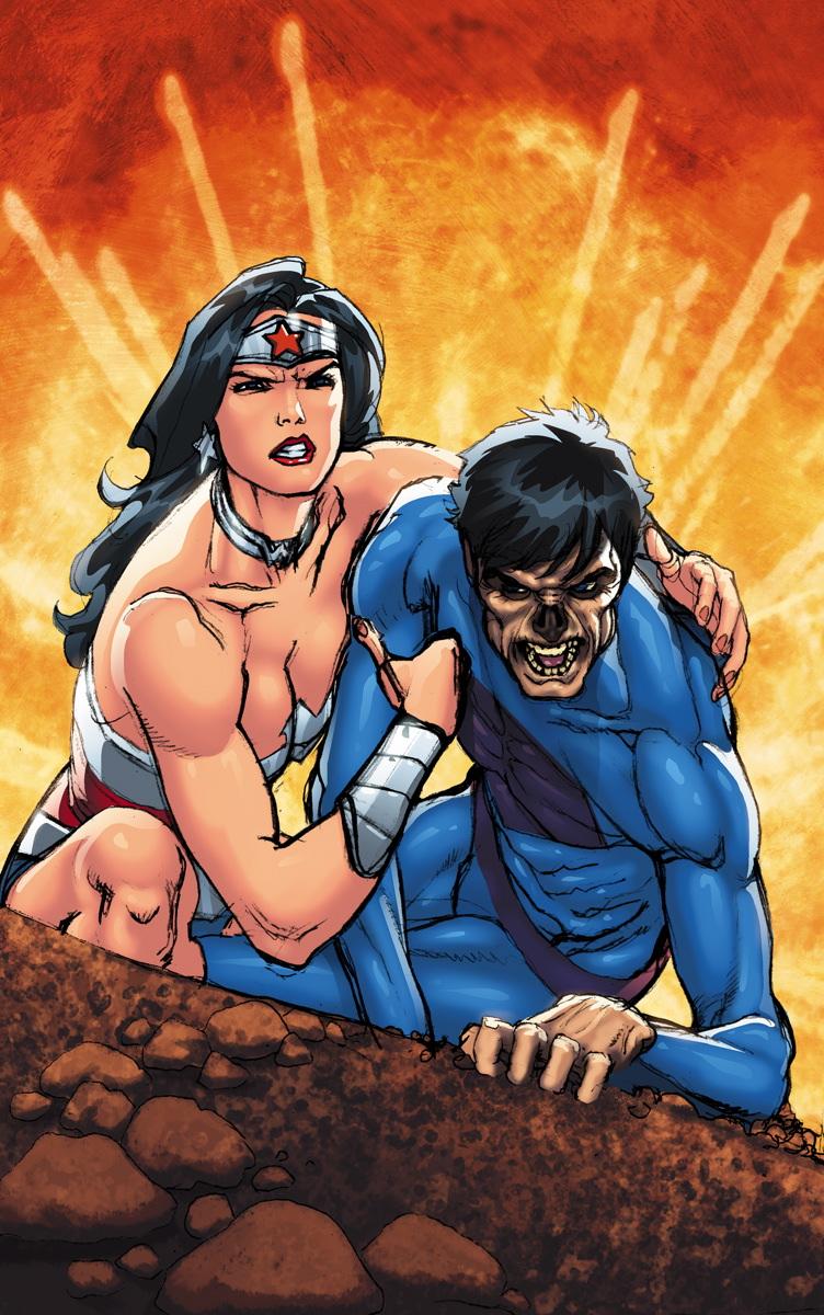 Superman Wonder Woman 07 cover