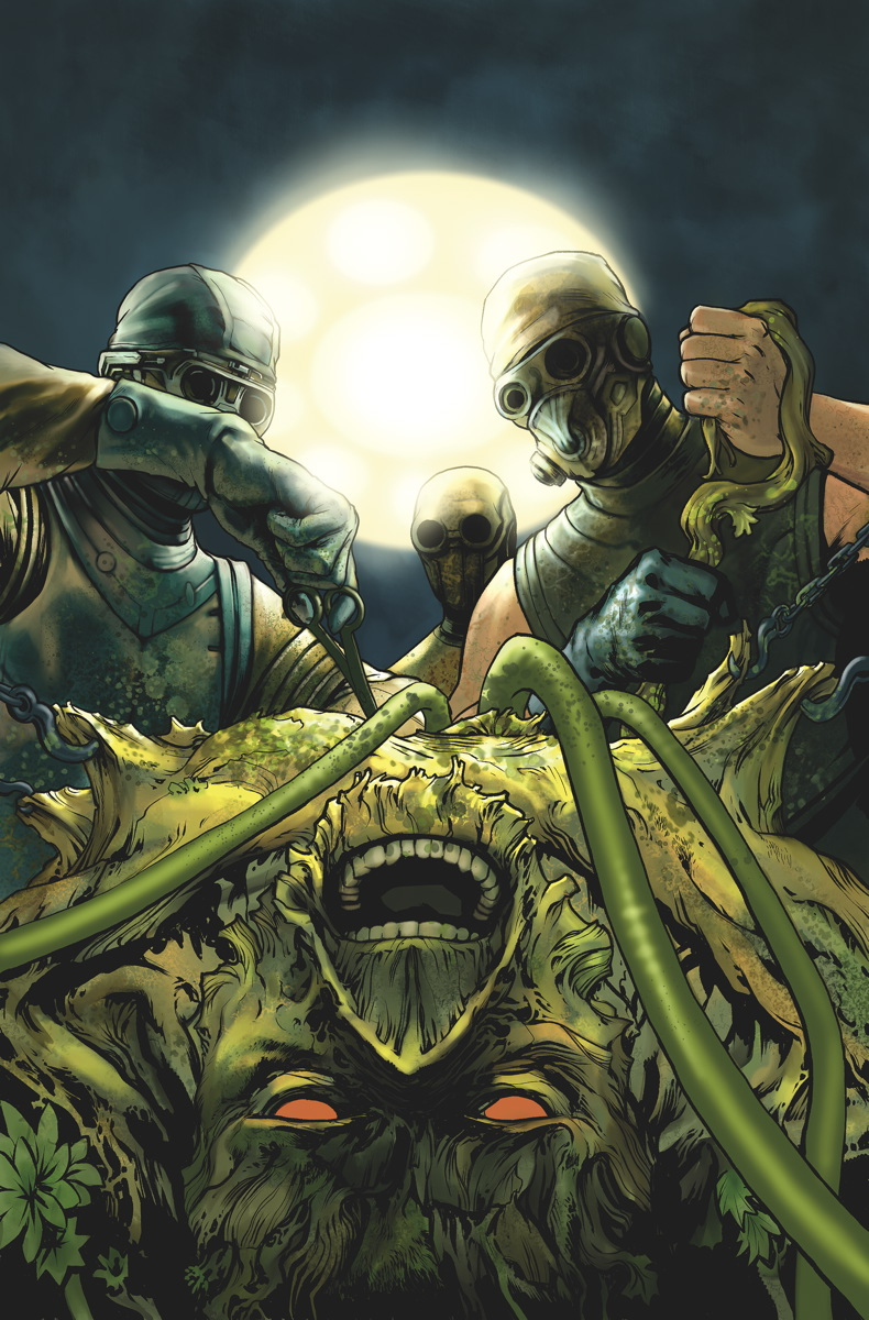 swamp thing 20 cover