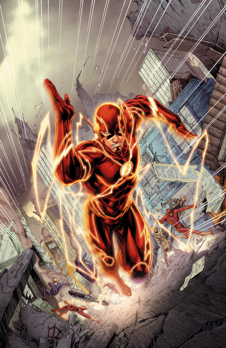 The Flash 30 cover